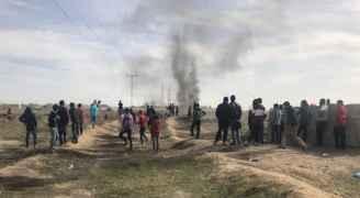 شهيدان في غزة وعشرات الاصابات بالضفة