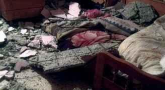 سقوط أسقف ثلاثة منازل في الأغوار