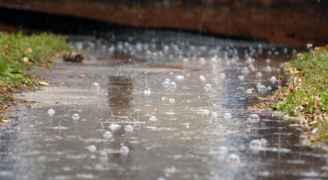مياه الأمطار تداهم 31 منزلا في اربد