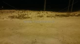 بالفيديو والصور: تساقط كثيف للثلوج في رشادية الطفيلة