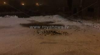 شاهد بالفيديو تساقط الثلوج في مختلف مناطق المملكة 