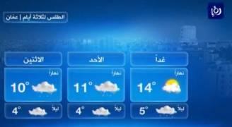 السبت: زخات من المطر في شمال وشرق المملكة .. فيديو