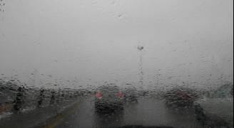 بالفيديو والصور.. امطار في العاصمة عمان