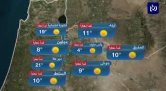 بالفيديو ..تحذير من تشكل الإنجماد فجر الأحد فوق المرتفعات الجبلية بالأردن