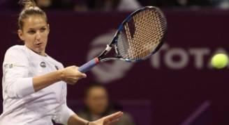 بليسكوفا تتوج بلقب قطر توتال لكرة المضرب