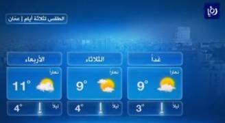 الاثنين: ارتفاع طفيف على درجات الحرارة .. فيديو