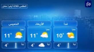 أجواء مستقرة الثلاثاء .. فيديو