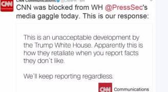منع وسائل إعلام أمريكية من حضور مؤتمر صحفي بالبيت الأبيض