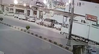 بالفيديو ..العناية الإلهية تنقذ طفلًا من الدهس بالسعودية