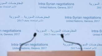 ورقة عمل دولية للوفود السورية بجنيف ولا مؤشر على تقدم