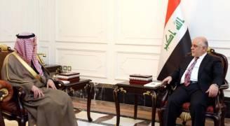 الأولى له منذ توليه منصبه..الجبير يلتقي العبادي في بغداد