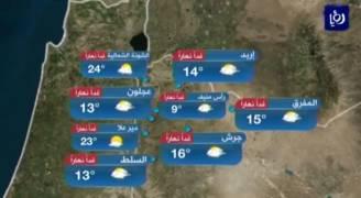 السبت: ارتفاع على درجات الحرارة .. فيديو