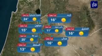 الأحد: أجواء مستقرة وغالباً مشمسة في أغلب المناطق .. فيديو