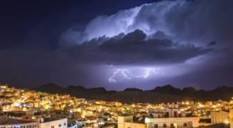 زخات أمطار رعدية بأجزاء مُختلفة من البلاد ليلة الجُمعة - السبت