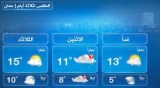 بالفيديو: انخفاض على درجات الحرارة الأحد وأجواء باردة