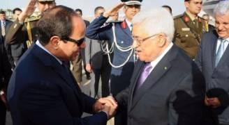 عباس يصل مصر للقاء السيسي