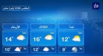 بالفيديو .. انخفاض اضافي على درجات الحرارة الاثنين