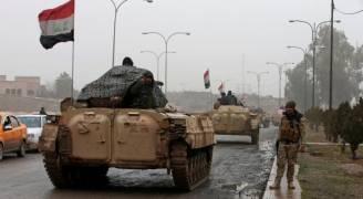 مجموعة من الضباط العراقيين بقبضة داعش