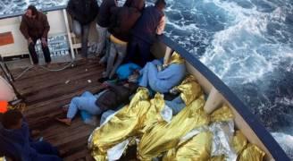 البحرية الليبية تنقذ 205 مهاجرين قبالة سواحلها