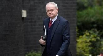 وفاة رئيس الوزراء السابق لايرلندا الشمالية مارتن ماكغينيس