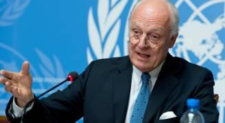 دي ميستورا يحث الأطراف السورية على الاستعداد لمحادثات جنيف