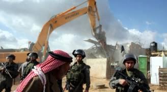 الاحتلال يسد منزل فلسطيني بالإسمنت في القدس الشرقية