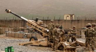 المدفعية الأمريكية تقصف أهدافا في الرقة السورية