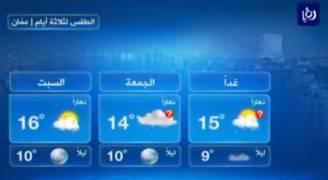 انخفاض على درجات الحرارة الخميس .. فيديو