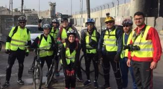'فلسطين ع البسكليت' .. جولة الحرية من القدس إلى العقبة رام الله