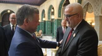 الملك يلتقي رئيس الوزراء المغربي ورئيسي مجلسي النواب والمستشارين