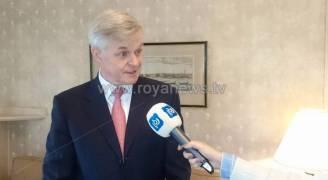 السفير البريطاني لـ'رؤيا': الأردنيون ردوا الجميل لنا في تضامنهم معنا