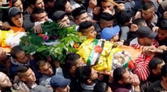 'الجلزون' تشيع جثمان شهيدها الحطاب..فيديو