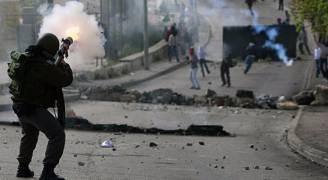 مواجهات بين فلسطينيين وجيش الاحتلال بالضفة