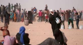 أكثر من 200 ألف نازح منذ بدء معركة استعادة الجانب الغربى للموصل
