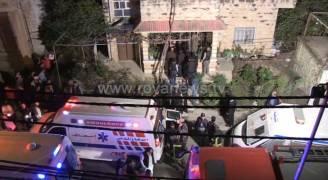شاهد بالفيديو موقع جريمة مقتل مسن وزوجته في اربد