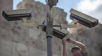 الاحتلال ينصب كاميرات مراقبة في مناطق من الضفة الغربية