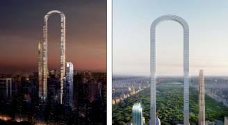 الكشف عن 'أعلى مبنى في العالم' على شكل حرف U في نيويورك ..صور
