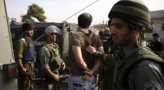 اعتقال 10 فلسطينيين في الضفة الغربية