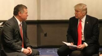 المومني: الملك يلتقي ترامب بعد القمة العربية