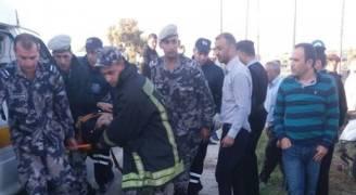 وفاة و 5 إصابات بحادث تصادم في اربد.. صور