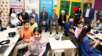 أورانج الأردن تتابع مع اليونيسيف تطبيق برنامج التعليم الإلكتروني
