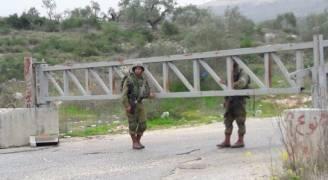 الاحتلال يغلق مدخل قرى شمال غرب رام الله