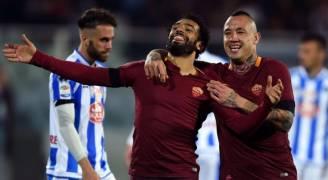 الدوري الإيطالي - روما يعزّز وصافته وبيسكارا يهبط إلى الدرجة الثانية