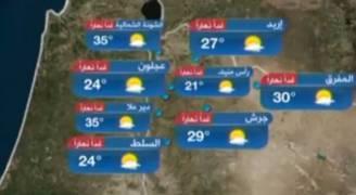 بالفيديو..ارتفاع آخر على درجات الحرارة الخميس
