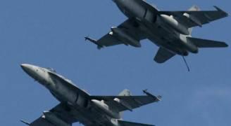 طائرات الاحتلال تستهدف بغارة مستودعا لحزب الله قرب مطار دمشق .. فيديو