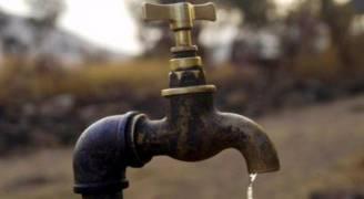 وقف ضخ المياه عن وادي العرب