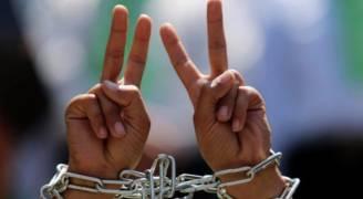 الأسرى يواصلون اضرابهم لليوم ١٢ على التوالي