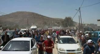 بالصور.. جمعة غضب في فلسطين تضامنا مع الأسرى