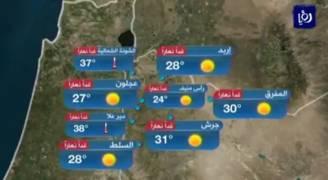 بالفيديو..ارتفاع على درجات الحرارة مع أجواء مستقرة الاثنين