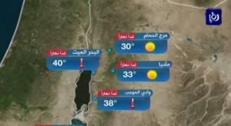 بالفيديو..أجواء حارة في معظم مناطق المملكة الأربعاء